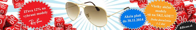 Slnečné okulaire Ray-Ban akcia